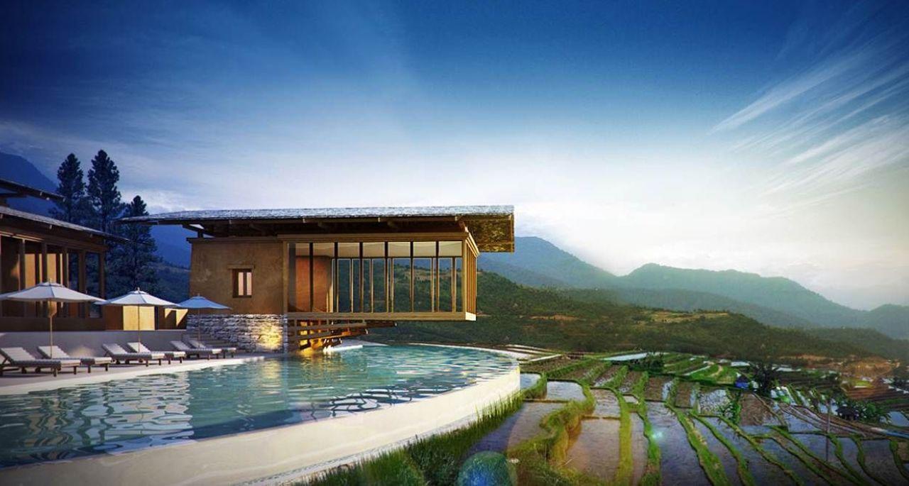 hotels in bhutan